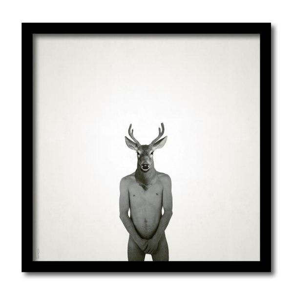 [ VENDU grand format 1/5 ] Le gendre / Luc Pallegoix, 2013. Encre pigmentaire sur papier Moab blanc 300 gr. Disponible en grand format |50 x 50 cm 5 ex.| ou moyen format | 23 x 23 cm 10 ex. | ou petit format | 12,5 x 12,5 cm 15 ex. |