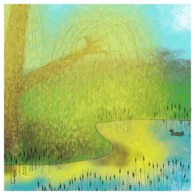 Un arbre – Strophe 11 / Luc Pallegoix, 2014. Tirage d'art, encre pigmentaire sur papier Moab blanc 300 gr. Disponible en moyen format | 23 x 23 cm 10 ex. |