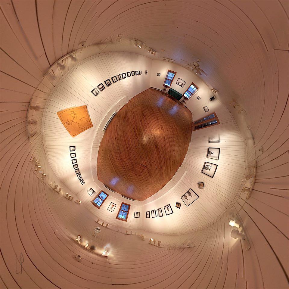 L'espace Hortense / Luc Pallegoix, 2015. Encre pigmentaire sur papier Moab blanc 300 gr. Disponible en grand format | 23 x 23 cm 10 ex. |et en moyen format | 23 x 23 cm 10 ex. |