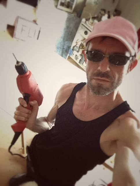 Je brode à la drill et au Phentex / Luc Pallegoix, 2015