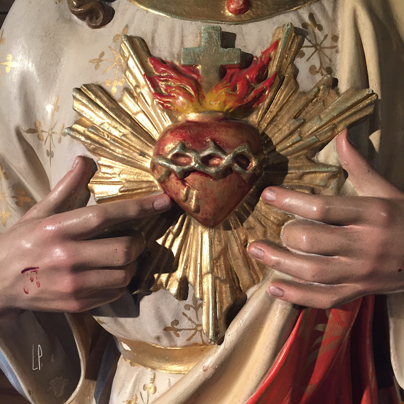 Sacré Coeur de Saint-Venant de Paquette / Luc Pallegoix, 2015. Encre pigmentaire sur papier Moab blanc 300 gr. Disponible en grand format   50 x 50 cm 5 ex.  ou moyen format   23 x 23 cm 10 ex.  