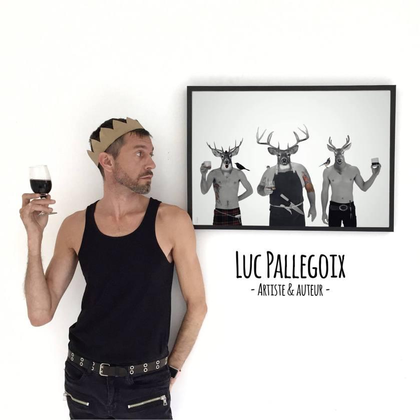 Luc Pallegoix et les trois noceurs