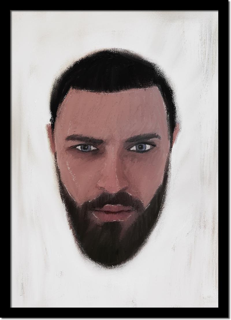 Amaël / Luc Pallegoix, 2016. Encre pigmentaire sur papier Moab blanc 300 gr. Disponible en grand format  50 x 70 cm 5 ex.  ou moyen format  A4 ou Lettre 10 ex. 