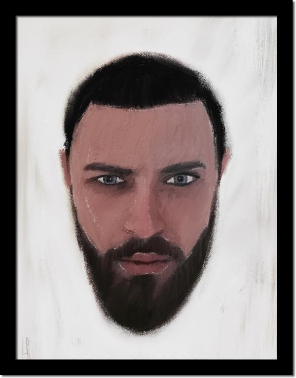 Amaël / luc Pallegoix, 2016. Encre pigmentaire sur papier Moab blanc 300 gr. 5 ex. [50 x 70 cm] Encadré en noir 800 $ + taxes ou 10 ex. [8,5 x 11''] encadré en noir 220 dollars + taxes