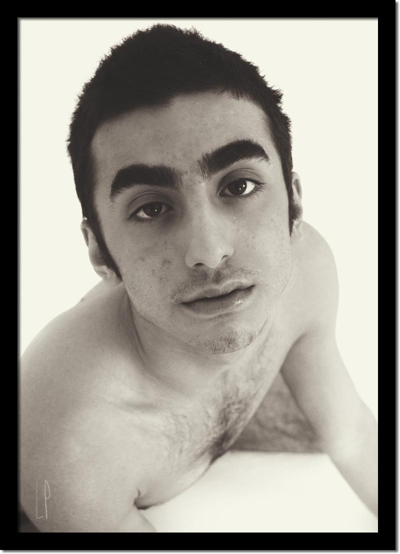 Premier portrait de  Dodz / Luc Pallegoix, 2019.